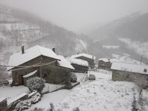 Espinavell sota la neu
