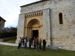Visita a Santa Cecília de Molló